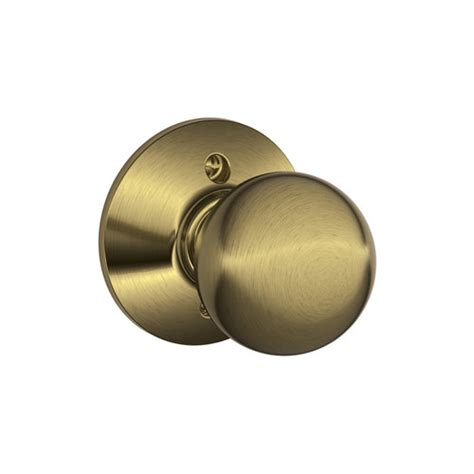 One Sided Door Knob by Schlage F170 Orb F Series Orbit Single Dummy Door Knob For
