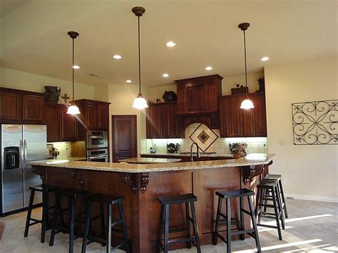 large custom kitchen islands large white kitchen with red and white wallpaper this best and