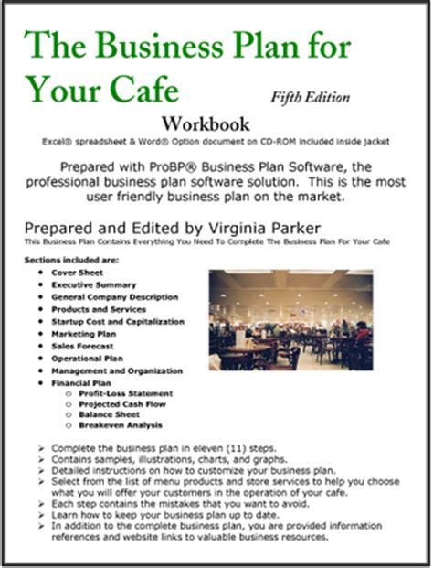 business plan cafe template the business plan for your cafe coffee house coffee shop