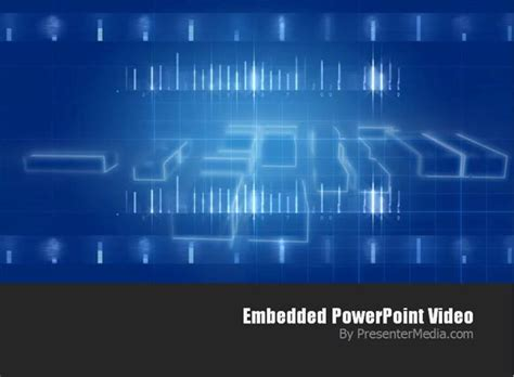 How To Use Presentermedia Video Backgrounds Free Technology Powerpoint Templates