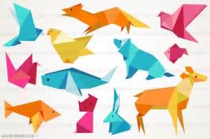 origami animal illustrations illustrations on creative