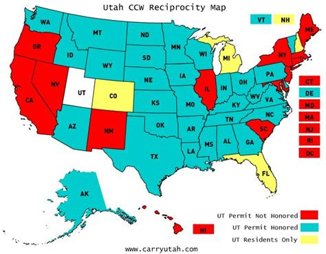 concealed carry reciprocity map the 25 best concealed carry reciprocity map ideas on