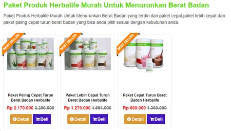 Paket Penggemuk Badan Herbalife harga paket herbalife diet untuk menurunkan berat badan