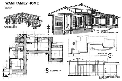 Traditional Japanese House Design Floor Plan | house plans and design modern japanese house floor plans