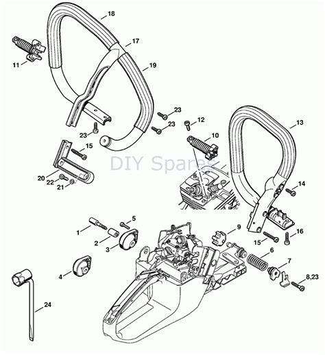 Stihl 020t Chainsaw Parts Diagram