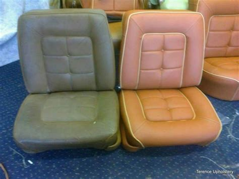 seat re upholstery car seat reupholstery before and after car seat