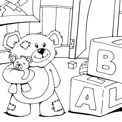 coloring pages for nursery nursery teddy coloring page coloring