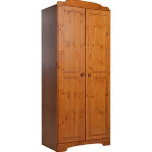 buy home nordic 2 door wardrobe pine at argos co uk