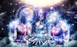 dealing with the 4th dimensional entities humans are free