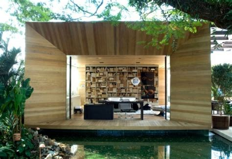 Cool Backyard Sheds by Wooden Bungalow Prefab House 50 Highly Modern Wood And