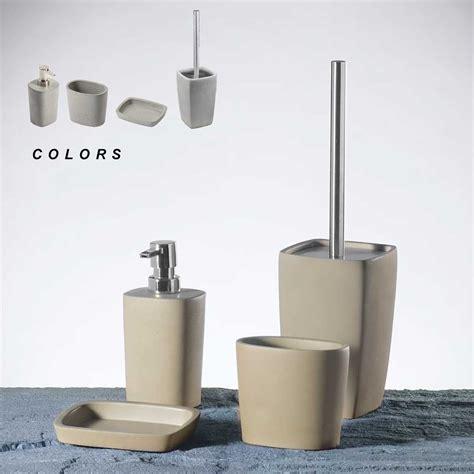 set arredo bagno set accessori bagno horus metaform