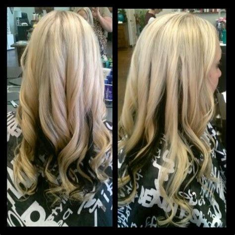 pics of blondes with dark hair underneath platinum blonde blondes and dark on pinterest