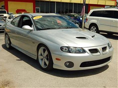 manual cars for sale 2006 pontiac gto seat position control 2006 pontiac gto for sale carsforsale com
