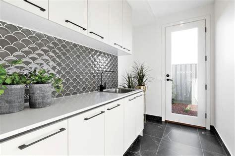 pin  carmen white  extension laundry ideas kitchen