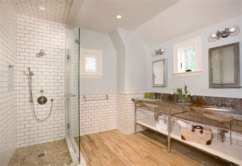bathroom wood floor tile walls bathroom vinyl plank flooring vs laminate