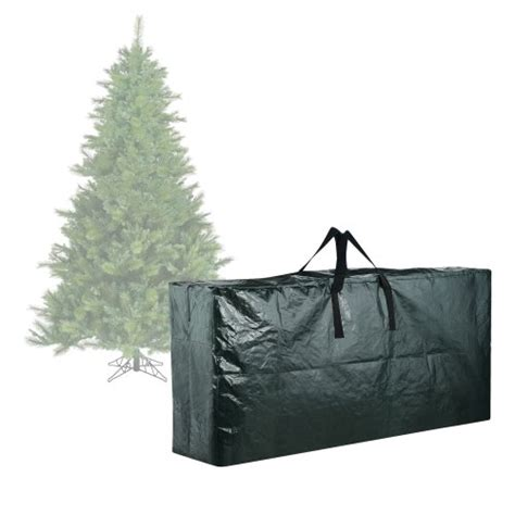 elf stor premium green christmas tree bag holiday extra large for up to 9 tree storage stor premium tree bag large import it all