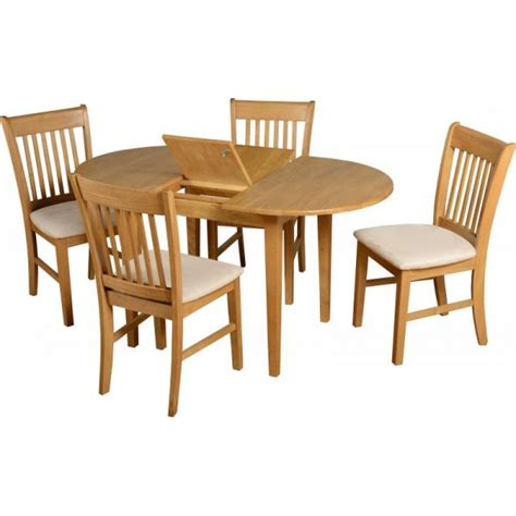 cheap seconique oxford extending dining table set 4