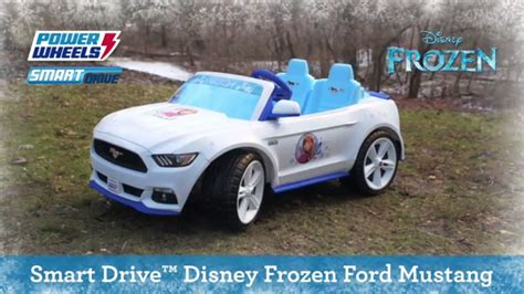 frozen power wheels sleigh power wheels 174 smart drive disney frozen ford mustang