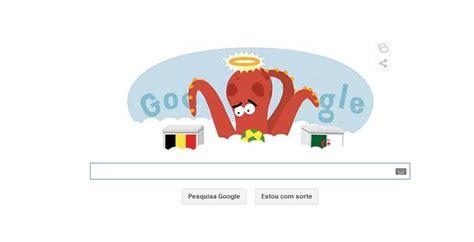 doodle copa do mundo polvo paul doodle da copa do mundo lembra or 225 culo de 2010