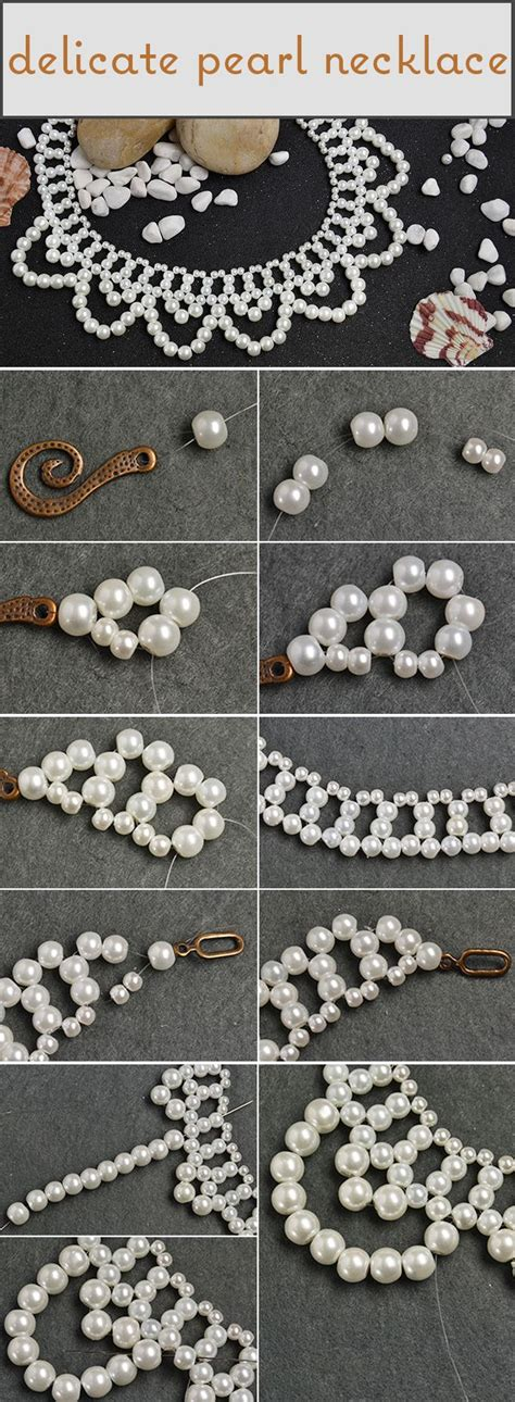 pandahall tutorial on how to make a delicate pearl bead