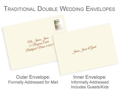 no inner envelope wedding invitation etiquette best 25 envelope addressing etiquette ideas on