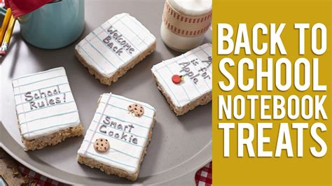 new year 2016 treats how to make back to school cereal treats