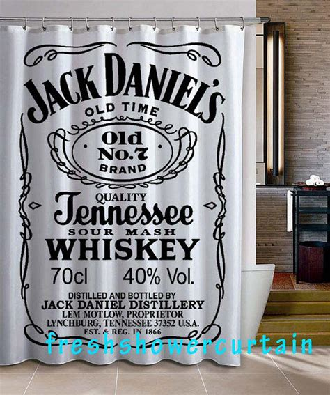 jack daniels bathroom jack daniels shower curtain from freshshowercurtain on etsy