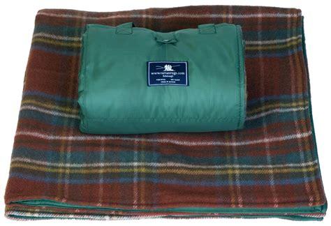 picnic rug waterproof wool tartan picnic rugs blankets