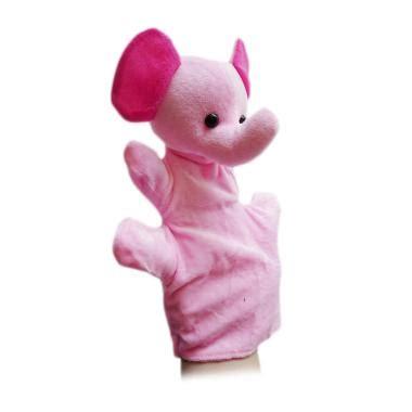 boneka tangan handpuppet bebek boneka mainan anak anak jual produk termurah terbaru