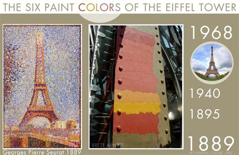 eiffel tower was painted paint talk professional painting contractors forum