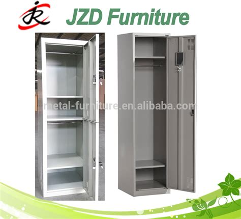 bedroom furniture home single door metal clothes locker