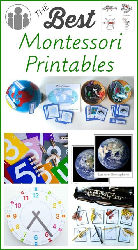 montessori printables for preschool 474 best images about montessori on pinterest montessori