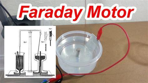 michael faraday electric motor faraday s motor