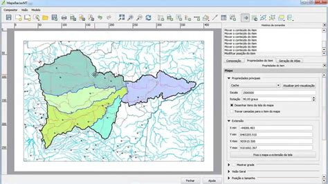 layout view in qgis qgis 2 0 modo layout completo youtube