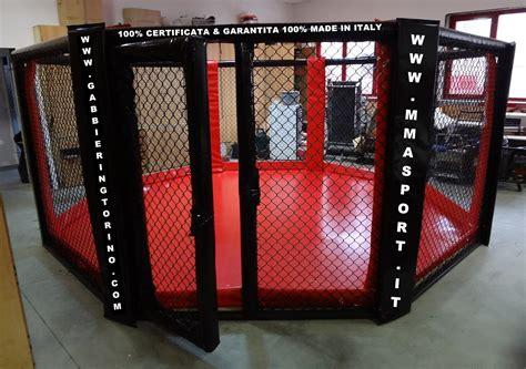 lotta in gabbia produzione gabbie ring per mma boxe muay thai