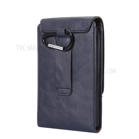 three layers leather holster for iphone 8 plus 7 plus samsung galaxy s9 s8