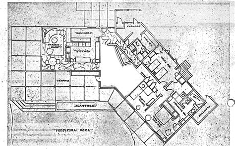 mid century modern plans floor plans for mid century modern homes mid century