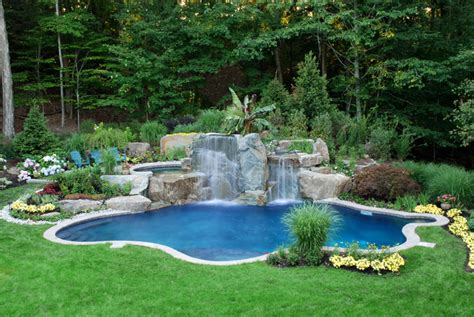 landscaping ideas around pool swimming pool landscaping ideas inground pools nj design