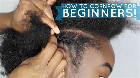 how to cornrow hair for beginners how to braid cornrow for beginners black hair information