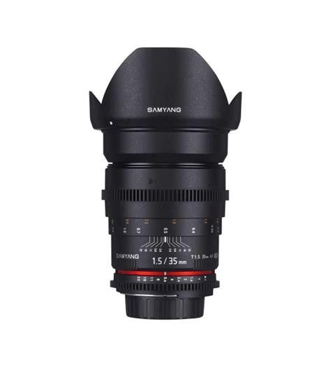 Samyang For Sony 35mm T1 5 Vdslr samyang for nikon 35mm t1 5 vdslr