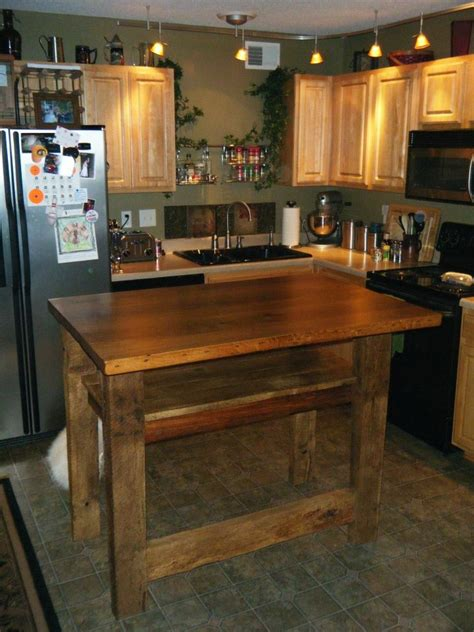 counter height kitchen island in reclaimed wood 27 17 best images about barn wood kitchen islands we have