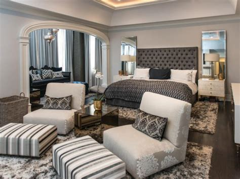 exotic bedroom seating area  extra comfort