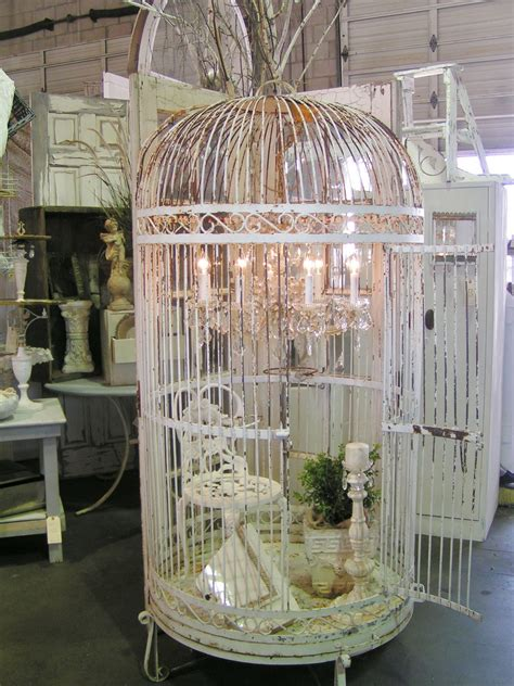 large bird cages blossoms vintage chic vintage at barn