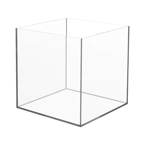 Acrylic Box acrylic 5 sided box 10 quot x 10 quot x 10 quot buy acrylic