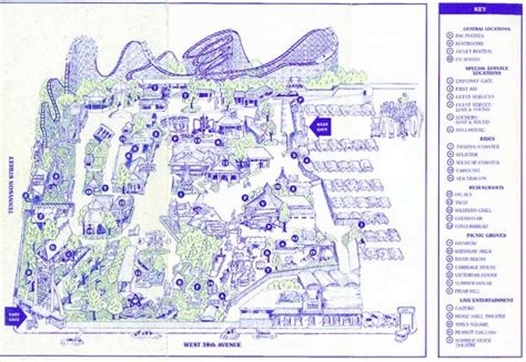 Directions To Elitch Gardens by Theme Park Brochures Elitch Gardens Theme Park Brochures