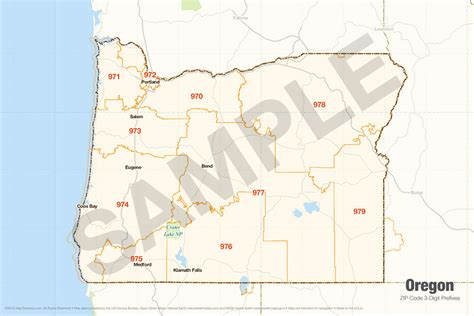 zip code map oregon search the maptechnica printable map catalog maptechnica