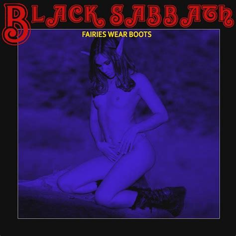 black sabbath shes black sabbath fairies wear boots alternative cover