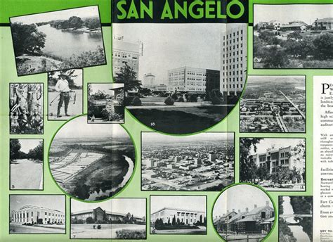 section 8 san angelo tx a well illustrated 8 section fold out brochure filled with