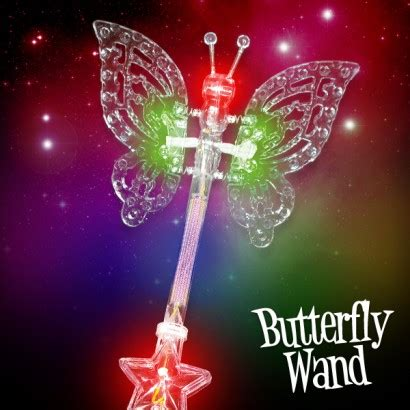 butterfly light l light up butterfly wand