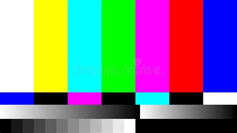 test pattern for led tv no signal tv retro television test pattern color rgb bars